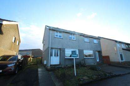 3 Bedrooms Semi Detached House for sale in Livingstone Quadrant, Harthill, North Lanarkshire