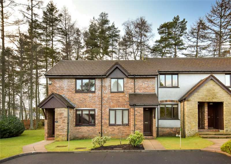 2 Bedrooms Terraced House for sale in 33 Dunbar Court, Gleneagles Village, Auchterarder, Perthshire, PH3