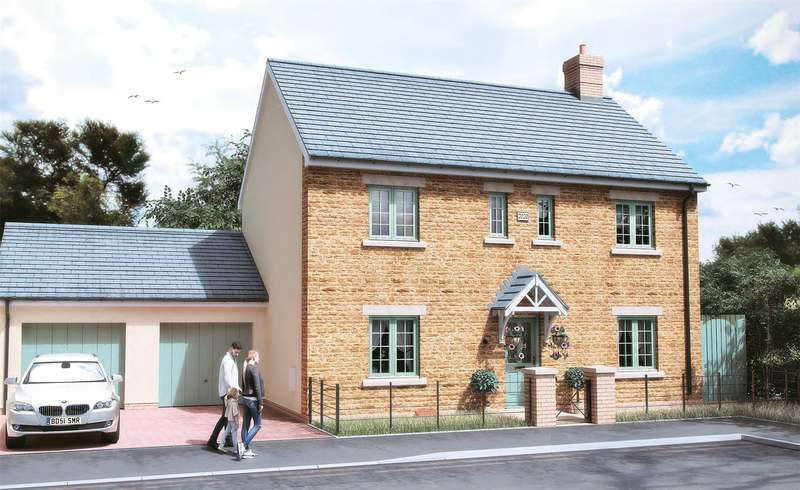 4 Bedrooms Detached House for sale in Plot 19 West Street, Stoke-Sub-Hamdon, Somerset, TA14