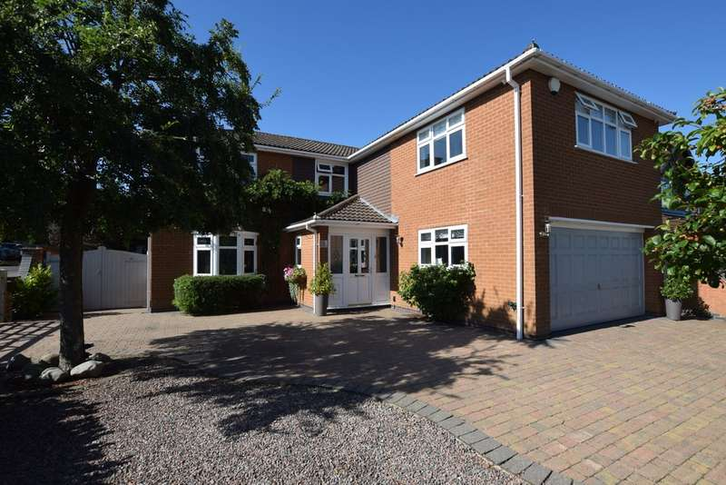 5 Bedrooms Detached House for sale in Ashburton Close, Burbage LE10