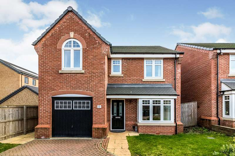 4 Bedrooms Detached House for sale in Bradfield Way, Waverley, Rotherham, South Yorkshire, S60
