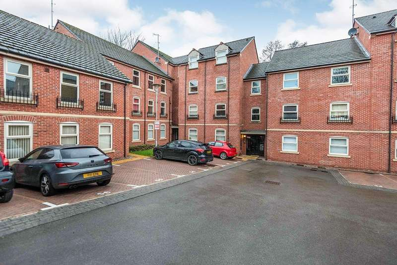 2 Bedrooms Apartment Flat for sale in Woodseats Mews, Sheffield, South Yorkshire, S8