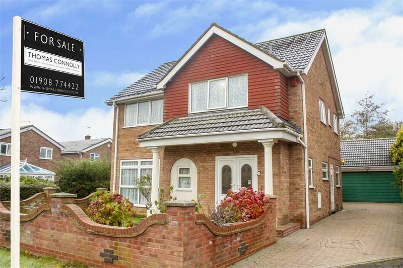 4 Bedrooms Detached House for sale in Lambourn Way, Brickhill, BEDFORD, Bedfordshire