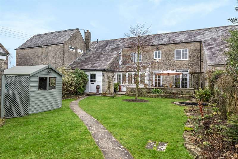 3 Bedrooms Terraced House for sale in Back Lane, Stoney Stratton, Shepton Mallet, Somerset, BA4