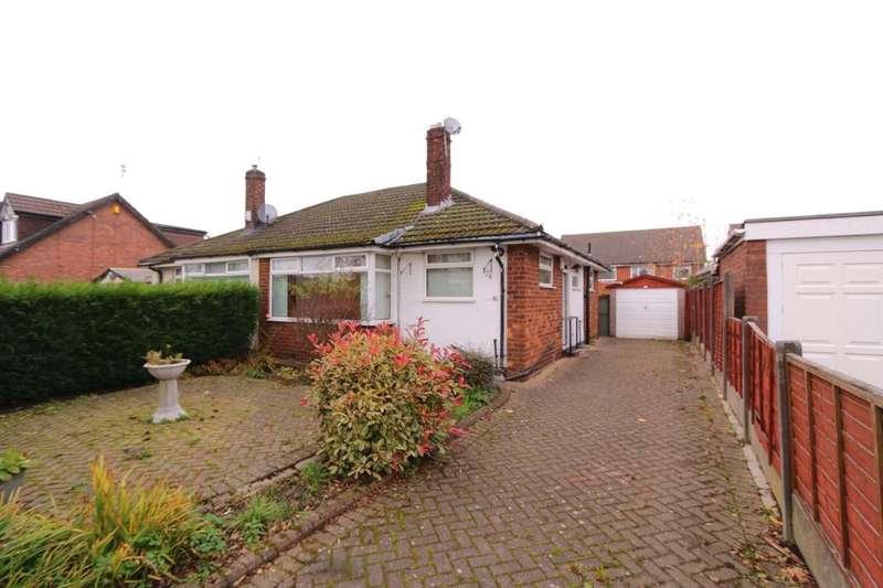 2 Bedrooms Semi Detached Bungalow for sale in St. Annes Road, Denton, Manchester, M34