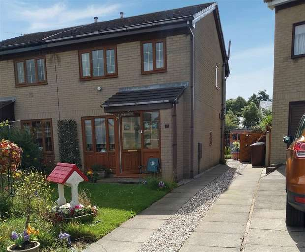 3 Bedrooms Semi Detached House for sale in Kirkfell Drive, The Wishing Well, Burnley, Lancashire