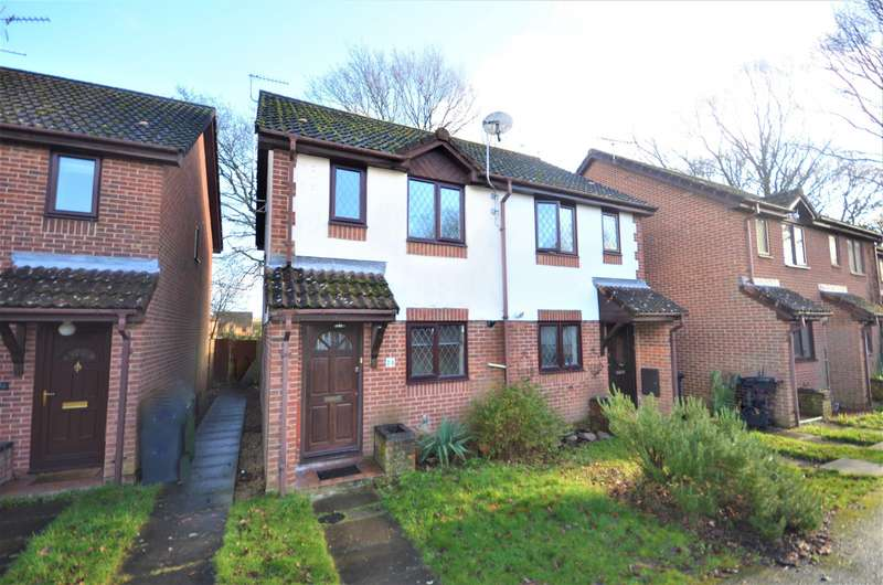2 Bedrooms Semi Detached House for sale in Stirling Crescent, Hedge End, Southampton, SO30