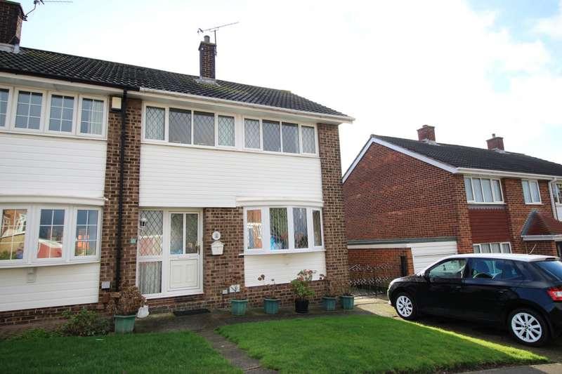 3 Bedrooms Semi Detached House for sale in Oaklands Road, Northfleet, Gravesend, Kent, DA11