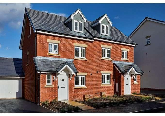 3 Bedrooms Semi Detached House for sale in Cloakham Lawns Cloakham Drive, Axminster, Devon, EX13
