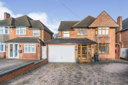 4 Bedrooms Detached House for sale in Buryfield Road, Solihull, West Midlands