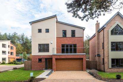 4 Bedrooms Detached House for sale in Fallow Park, Rugeley Road, Hednesford, Cannock