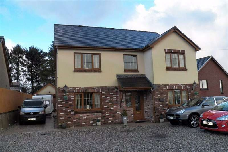 5 Bedrooms Detached House for sale in Heol Yr Ysgol, Cefneithin