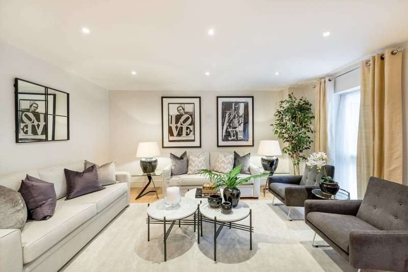 3 Bedrooms Flat for sale in Harrowby Street, Marylebone, W1H