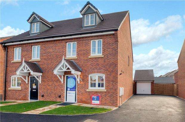 3 Bedrooms Semi Detached House for sale in Myton Green, Europa Way, Leamington Spa