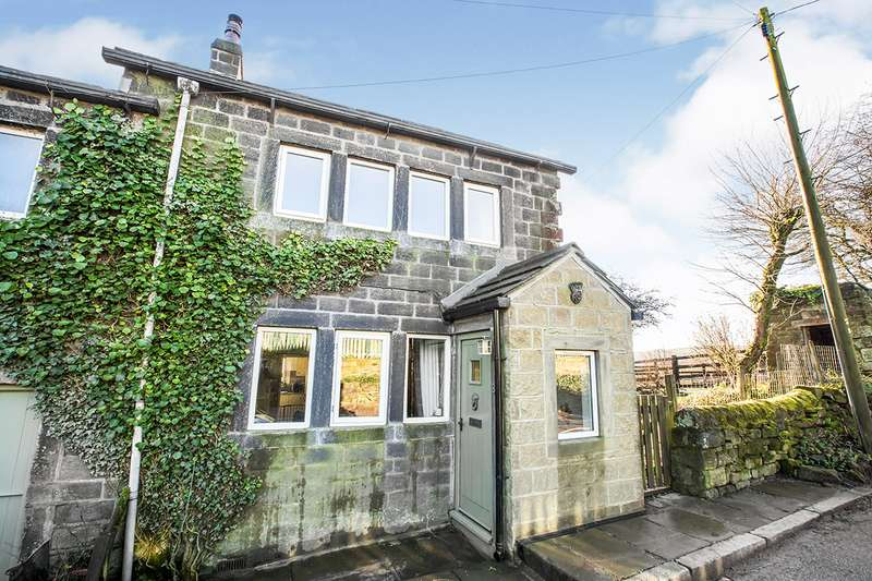 2 Bedrooms End Of Terrace House for sale in Davy Cottages, Blackshawhead, Hebden Bridge, West Yorkshire, HX7