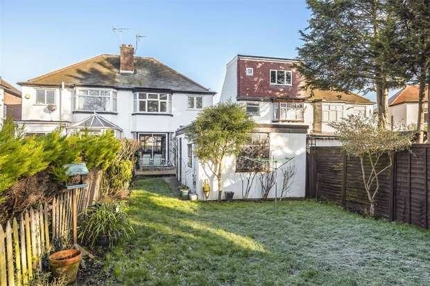 3 Bedrooms Semi Detached House for sale in Norval Road, WEMBLEY
