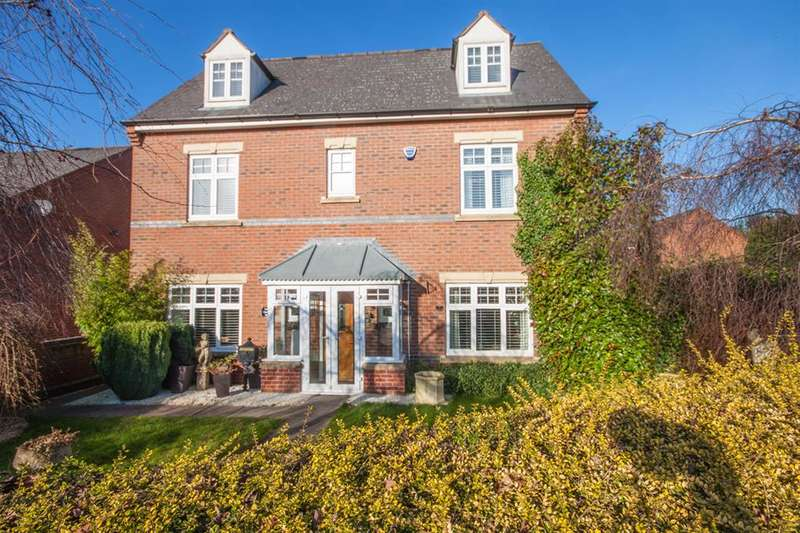 5 Bedrooms Detached House for sale in Gregory Road, Burntwood, WS7 9QB