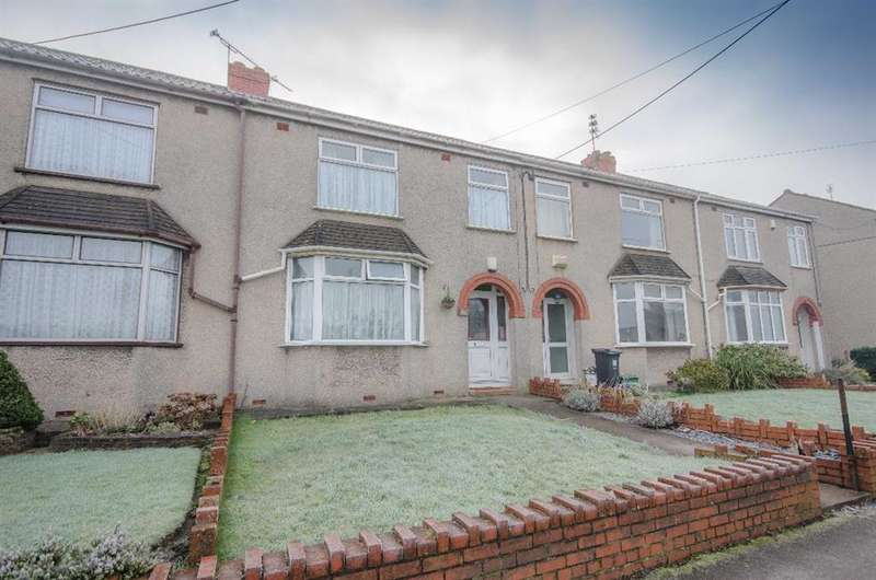 3 Bedrooms Terraced House for sale in Windsor Place, Mangotsfield, Bristol, BS16 9DB