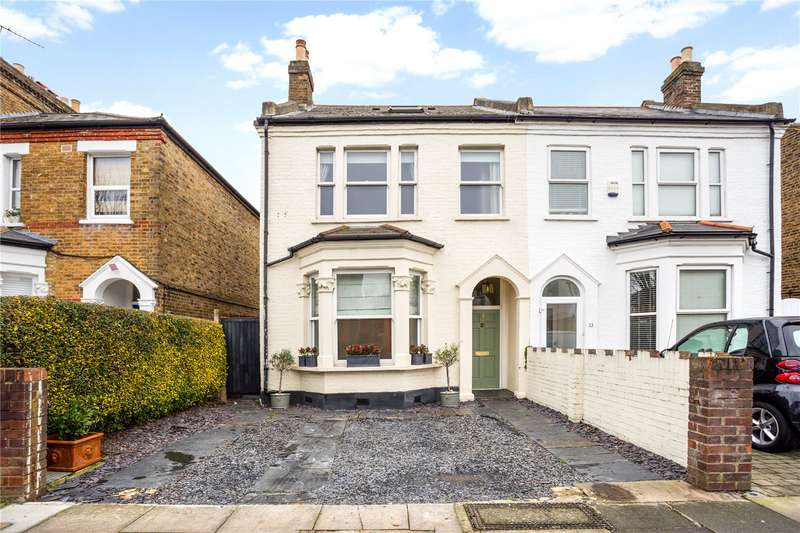 4 Bedrooms Semi Detached House for sale in Coldershaw Road, Ealing, W13