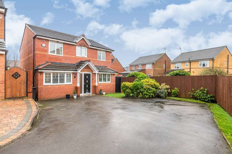 4 Bedrooms Detached House for sale in Harswell Close, Orrell, Wigan, Greater Manchester, WN5