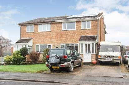3 Bedrooms Semi Detached House for sale in Elder Close, Warton, Preston, PR4