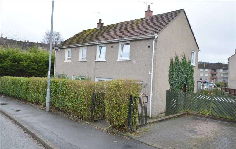 2 Bedrooms Semi Detached House for sale in Rowantree Avenue, Rutherglen