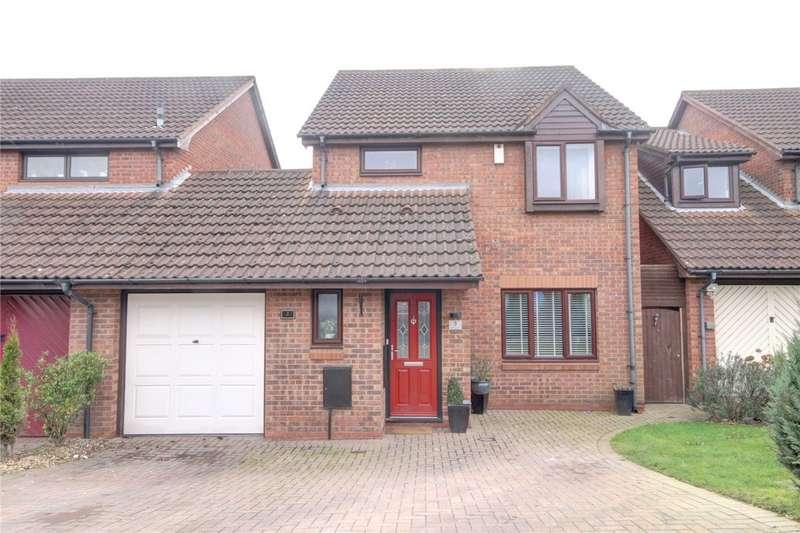 4 Bedrooms Link Detached House for sale in Balliol Court, Darlington, DL1