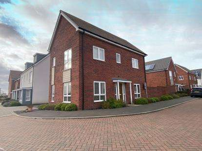 3 Bedrooms Detached House for sale in Redwood Close, Coalville, Leicestershire