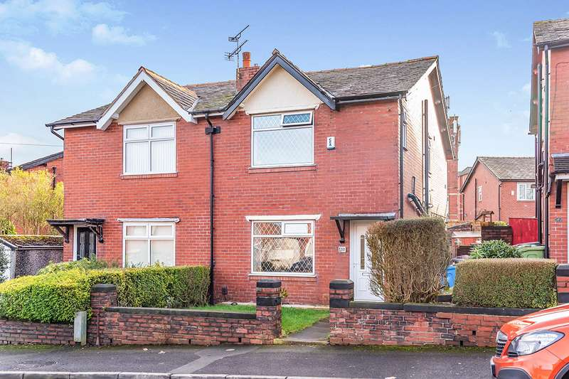 3 Bedrooms Semi Detached House for sale in Belgrave Avenue, Oldham, Greater Manchester, OL8