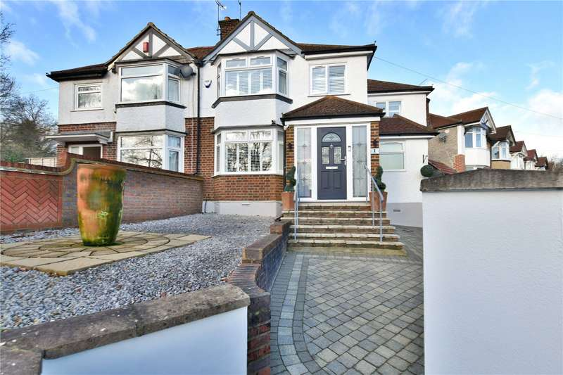 4 Bedrooms Semi Detached House for sale in East Drive, Watford, Hertfordshire, WD25