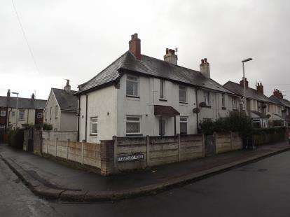 2 Bedrooms Semi Detached House for sale in Leavesley Road, ., Blackpool, Lancashire, FY1