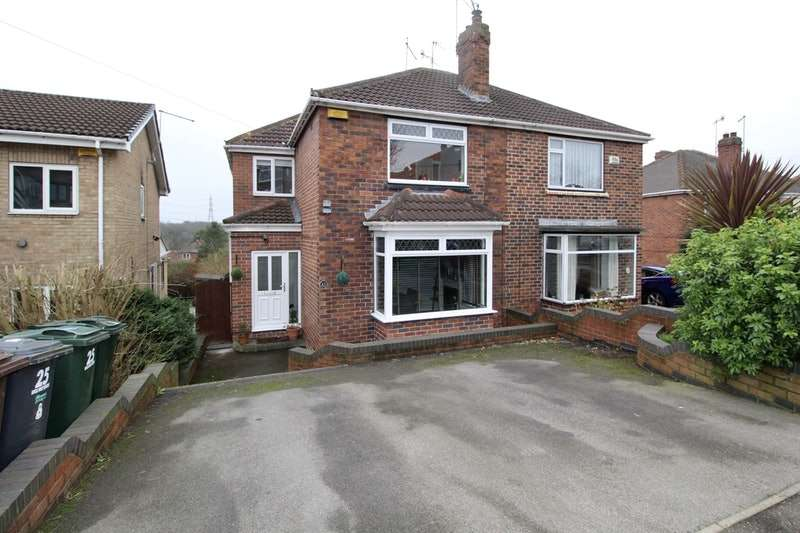 3 Bedrooms Semi Detached House for sale in Saville Road, Rotherham, South Yorkshire, S60