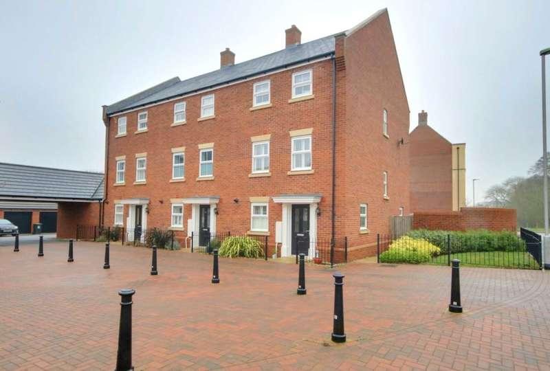 4 Bedrooms End Of Terrace House for sale in OVER 1600 SQ FT, Master Bedroom with En-suite Shower Room, GARAGE
