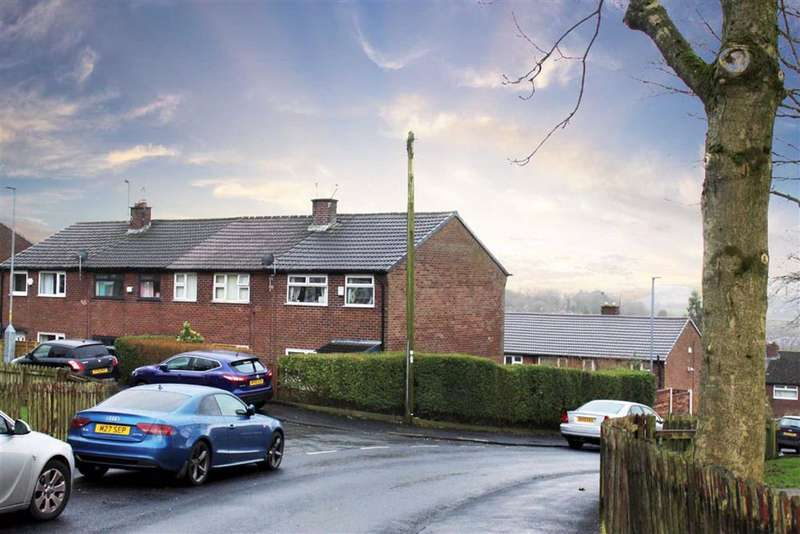 3 Bedrooms End Of Terrace House for sale in Gorse Avenue, Mossley, Ashton-under-lyne