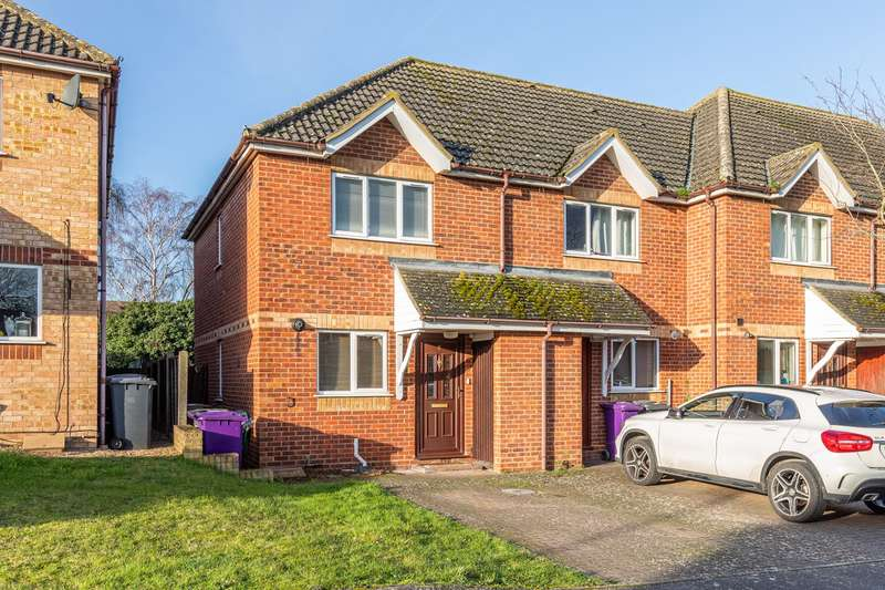 2 Bedrooms End Of Terrace House for sale in Rose Walk, Royston, SG8