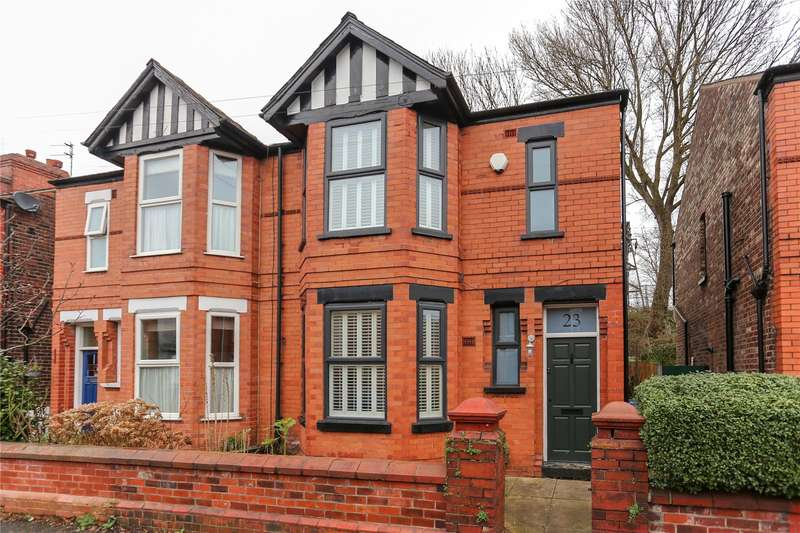 3 Bedrooms Semi Detached House for sale in Woodland Road, Burnage, Manchester, M19