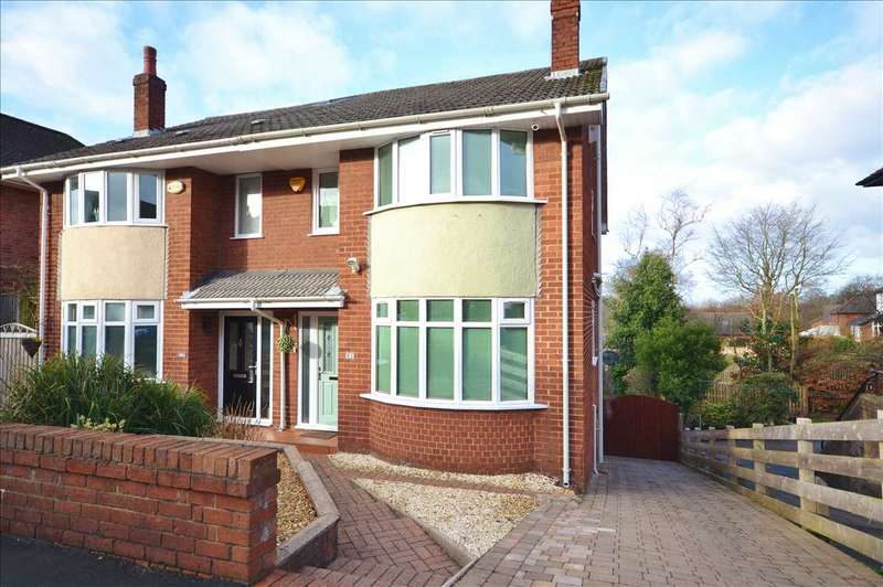 2 Bedrooms Semi Detached House for sale in Queens Road, Chorley