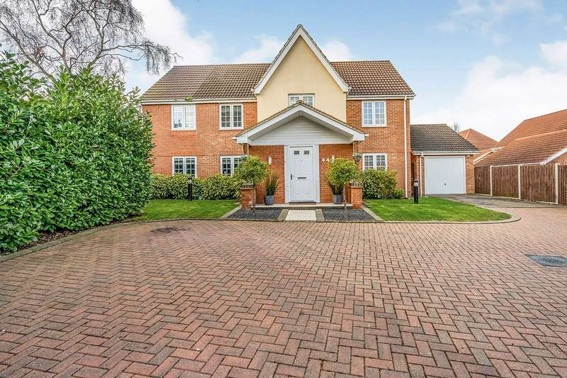 5 Bedrooms Detached House for sale in Cranford Close, Rainham, Gillingham, Kent, ME8