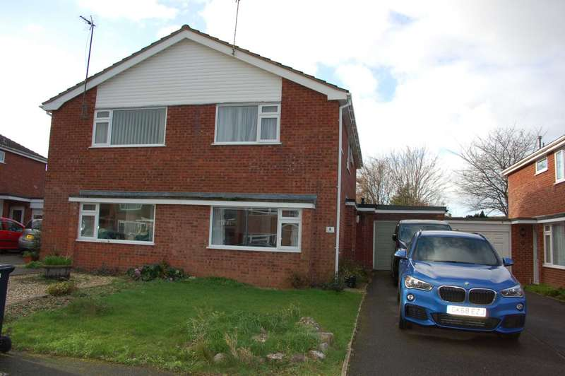 3 Bedrooms Semi Detached House for sale in Sutherland Close, Taunton