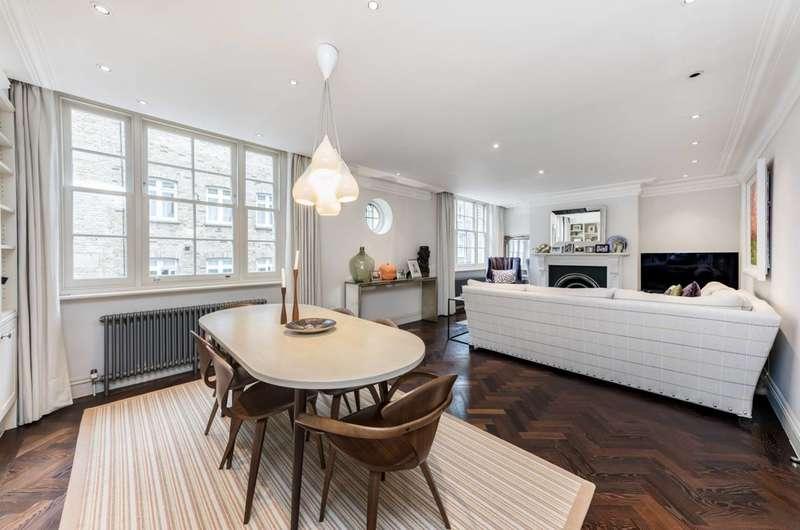 2 Bedrooms Flat for sale in Montagu Mansions, Marylebone, W1U