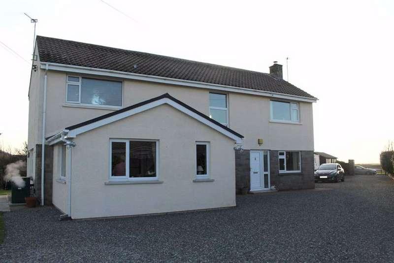 4 Bedrooms Detached House for sale in Herbrandston, Milford Haven