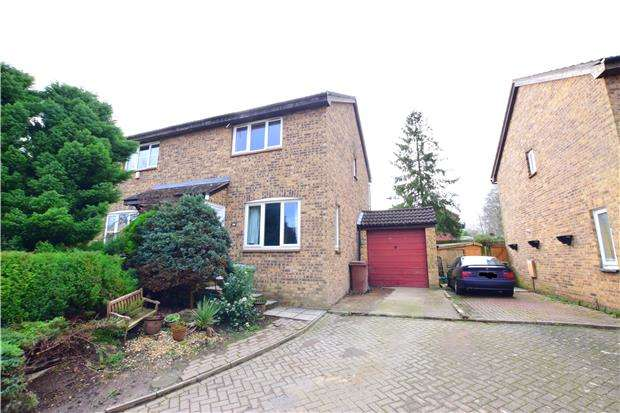 3 Bedrooms Semi Detached House for sale in Ashenden Walk, TUNBRIDGE WELLS, Kent, TN2 3UJ
