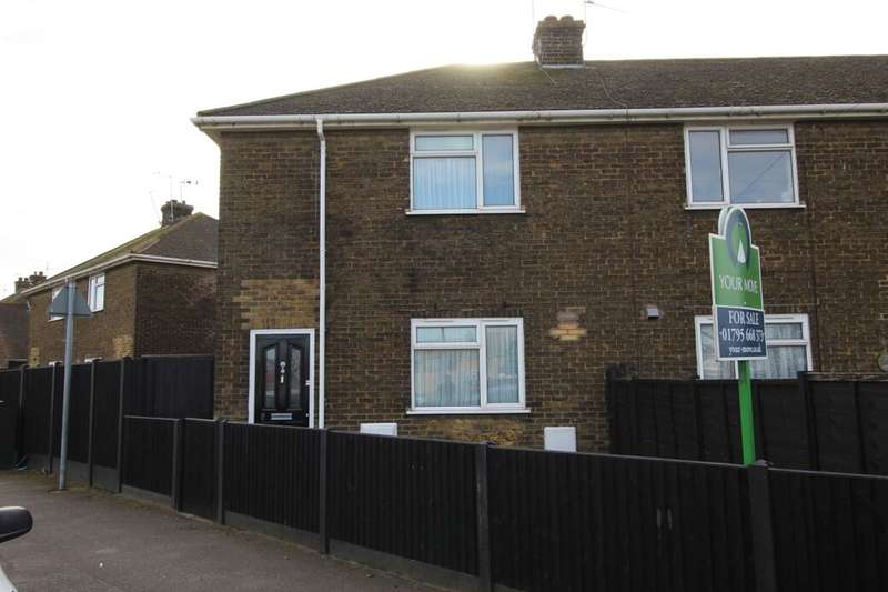 3 Bedrooms Semi Detached House for sale in Medway Road, Sheerness, ME12