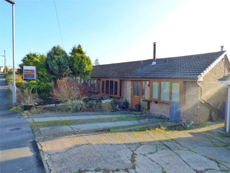 3 Bedrooms Semi Detached Bungalow for sale in Churchtown Crescent, Bacup, Lancashire, OL13