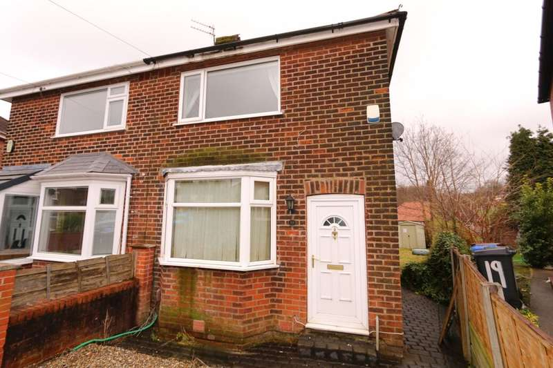2 Bedrooms Semi Detached House for sale in Strathmore Avenue, Denton, Manchester, M34