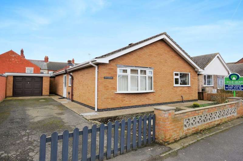 3 Bedrooms Detached Bungalow for sale in Moreland Avenue, Sutton-On-Sea, Mablethorpe, LN12