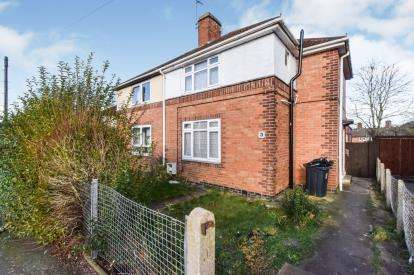 3 Bedrooms Semi Detached House for sale in Worrall Close, Leicester, Leicestershire