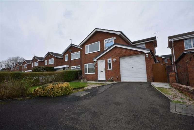 5 Bedrooms Detached House for sale in Larchwood, Firwood Park, Chadderton, OL9