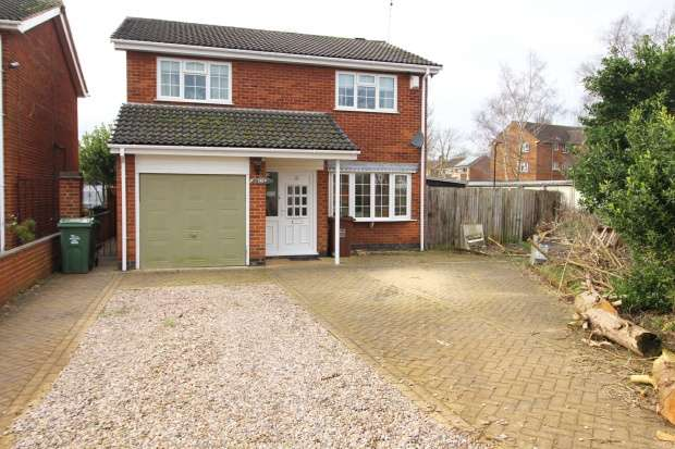 4 Bedrooms Detached House for sale in Tuckers Road, Loughborough, Leicestershire, LE11 2PJ