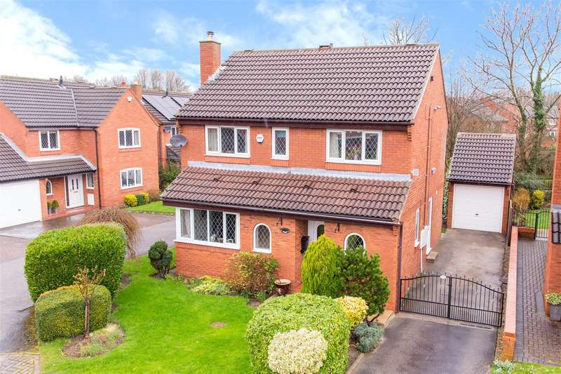 4 Bedrooms Detached House for sale in Kirkfield Gardens, Leeds